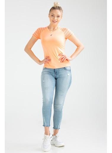 Speedlife Grain Kadın Tişört Renkli